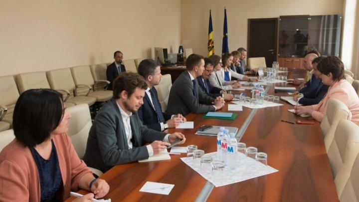 Павел Филип провел встречу с делегацией Европарламента