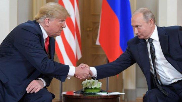 Дональд Трамп попросил Владимира Путина не вмешиваться в выборы на совместной пресс-конференции