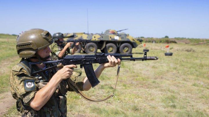 В Приднестровье прошли военные учения (фото)