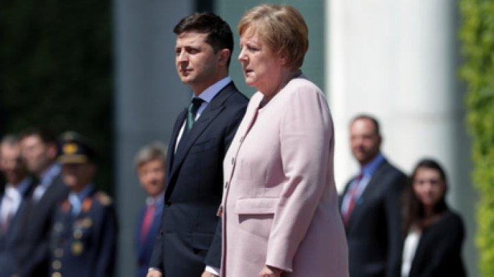 Меркель стало плохо во время встречи с Зеленским