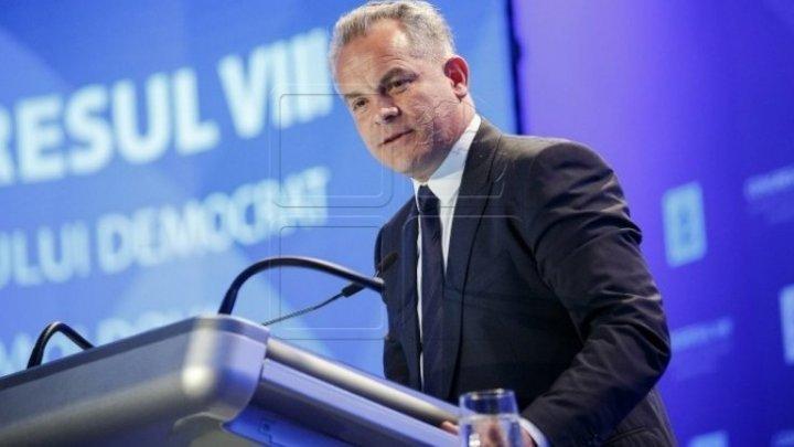 Влад Плахотнюк ушел с поста лидера Демократической партии Молдовы