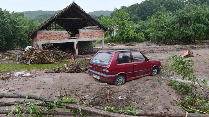 В Сербии объявили режим стихийного бедствия из-за наводнений