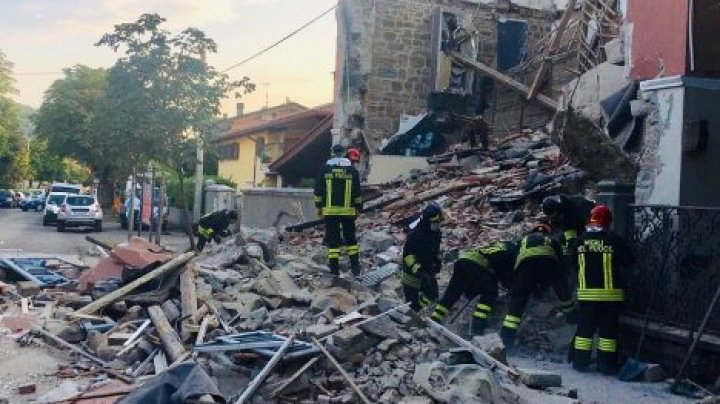 В Италии из-за взрыва бытового газа обрушился жилой дом: погибли двое