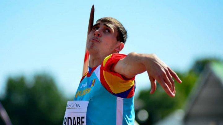 Легкоатлет Андриан Мардаре стал чемпионом Всемирной Универсиады