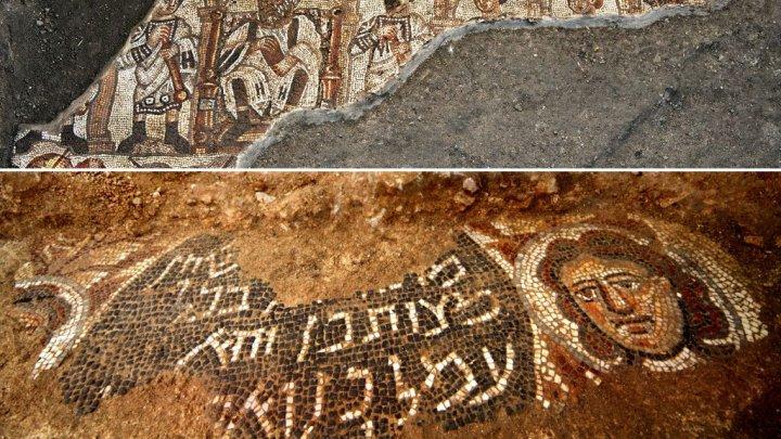 В Израиле нашли необычную мозаику V века