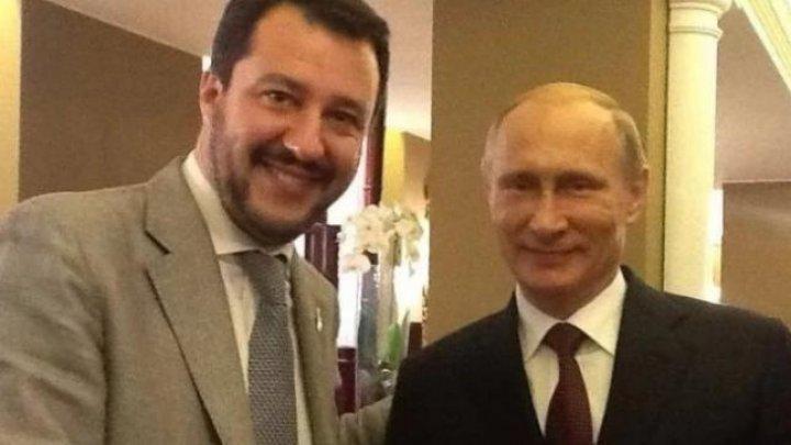 BuzzFeed опубликовал запись тайных переговоров о финансировании партии Сальвини с чиновниками Кремля