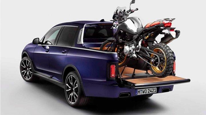 BMW показала гигантский и мощный пикап X7