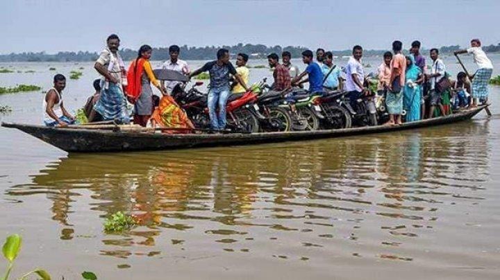 В Индии более 60 тысяч людей пострадали от наводнения