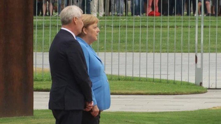 Ангела Меркель в третий раз испытала приступ дрожи