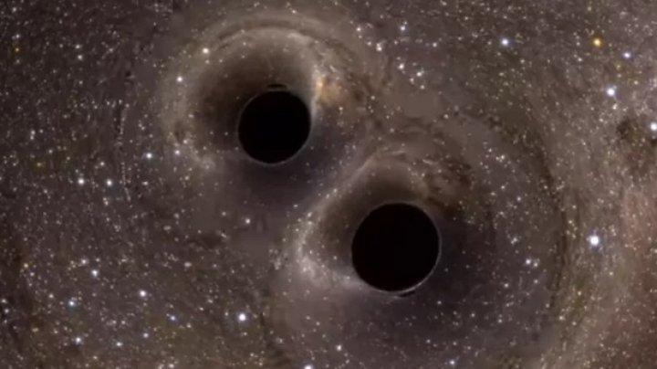Найдены две сверхмассивные черные дыры