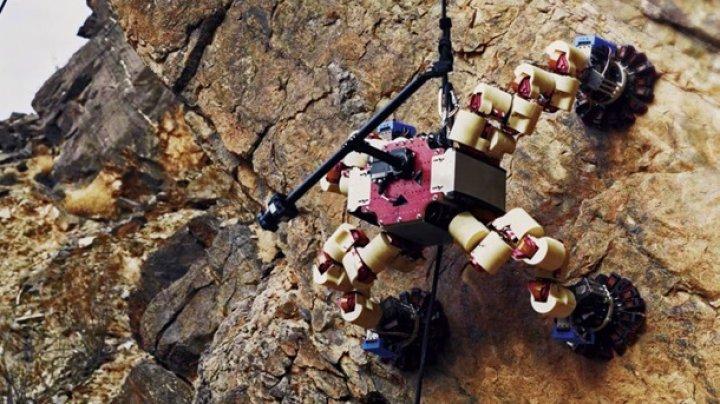 Робот-скалолаз NASA покорил гору в Долине смерти (видео)