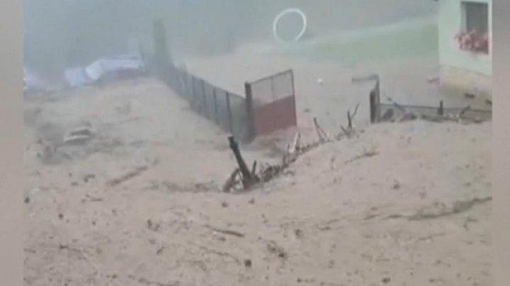 Сильный ливень затопил центр Румынии