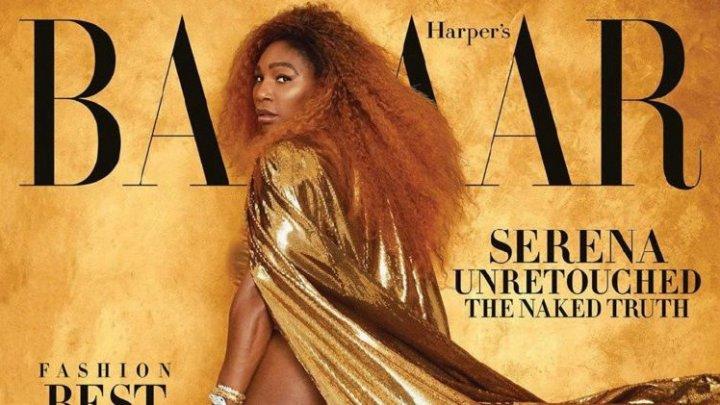 Серена Уильямся появилась на обложке модного журнала