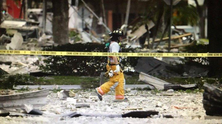 В США в ресторане прогремел мощный взрыв, около 20-ти человек пострадали