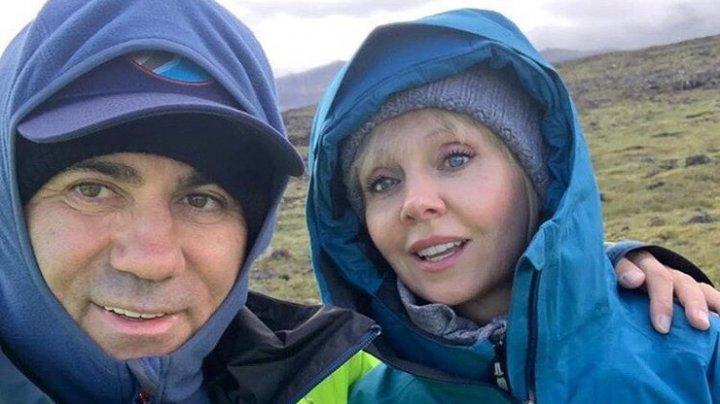 Валерия и Иосиф Пригожин спустились на дно вулкана в Исландии