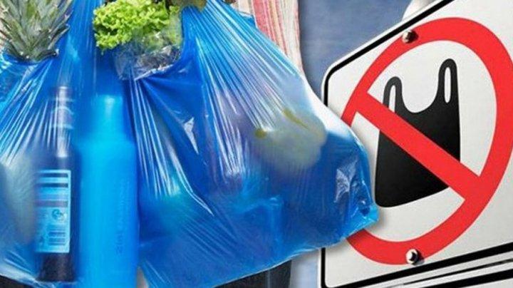 В Молдове будут штрафовать за продажу пакетов и одноразовой посуды