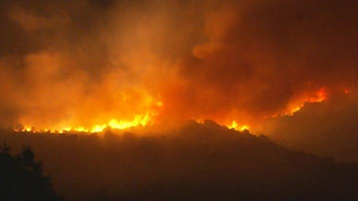Лесные пожары добрались до Мадрида