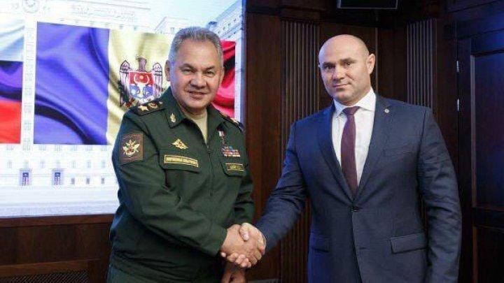 Министры обороны России и Молдавии обсудили в Москве перспективы военно-технического сотрудничества