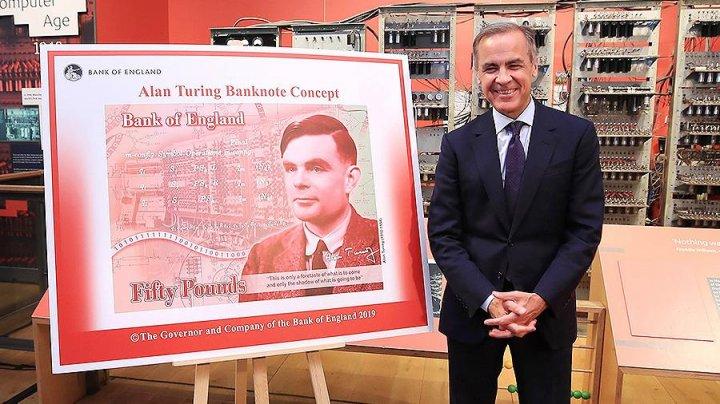 В Великобритании выпустят банкноты с портретом Алана Тьюринга
