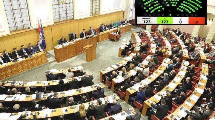 Парламент Хорватии утвердил обновленный состав кабмина