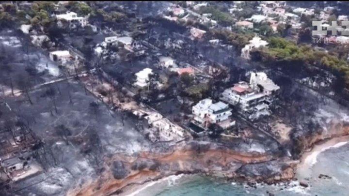 В Греции арестовали виновника пожара на острове Эвбея