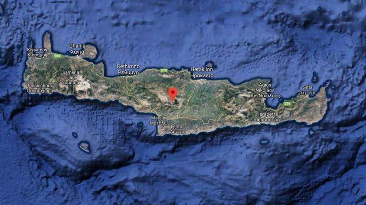 У берегов Крита произошло землетрясение магнитудой 5,0