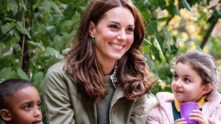 """Кейт Миддлтон рассказала, как ребенок может вырасти в """"счастливого взрослого"""""""