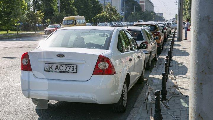С начала года оштрафованы 1150 водителей за неправильную парковку (фоторепортаж)