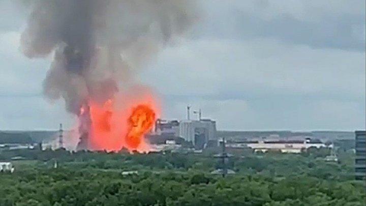 На ТЭЦ в подмосковных Мытищах пожар: один человек погиб и 13 пострадали