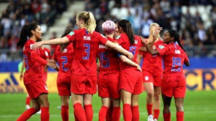 Сборная США защитила титул чемпиона мира по футболу среди женщин