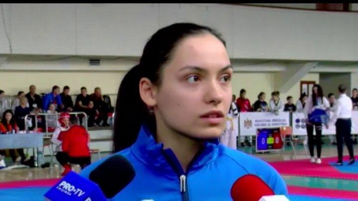 Молдавская таэквондистка Анна Чукиту завоевала бронзовую медаль