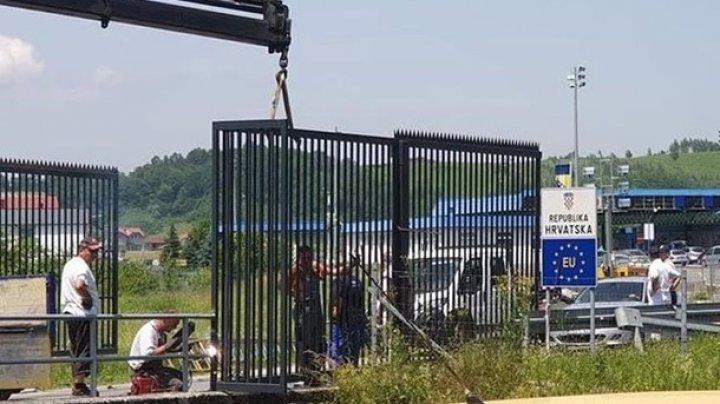 """Словения строит """"стену"""" на границе с Хорватией"""