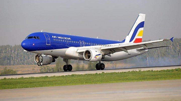 Кишиневский самолет вернулся в Домодедово с отказавшим двигателем