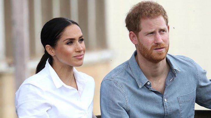 """Меган Маркл и принц Гарри пришли на премьеру """"Короля Льва"""" в Лондоне"""