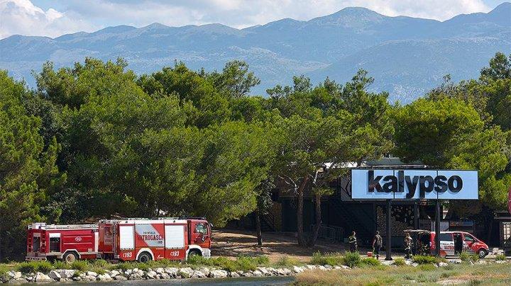 Тысячи жителей эвакуированы на хорватском острове Паг из-за пожаров