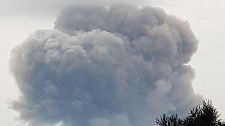 При взрыве на военном складе в Красноярском крае пострадали восемь человек