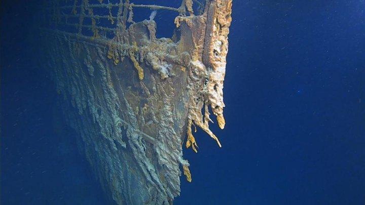 """Исследователи показали """"Титаник"""" через 107 лет после катастрофы (видео)"""