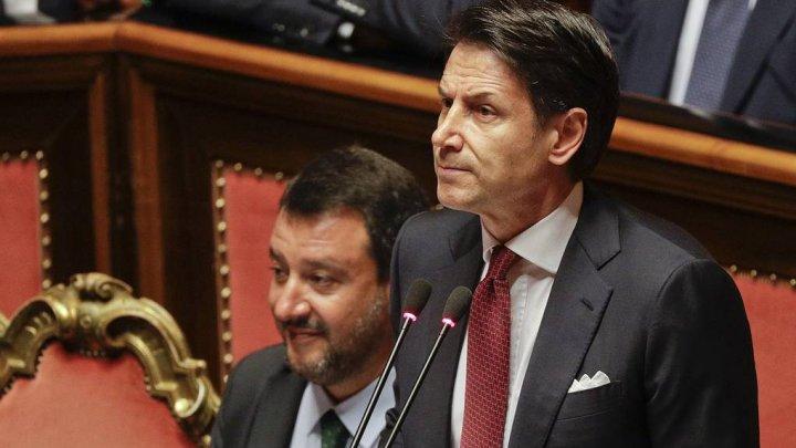 Премьер-министр Италии Джузеппе Конте объявил об отставке