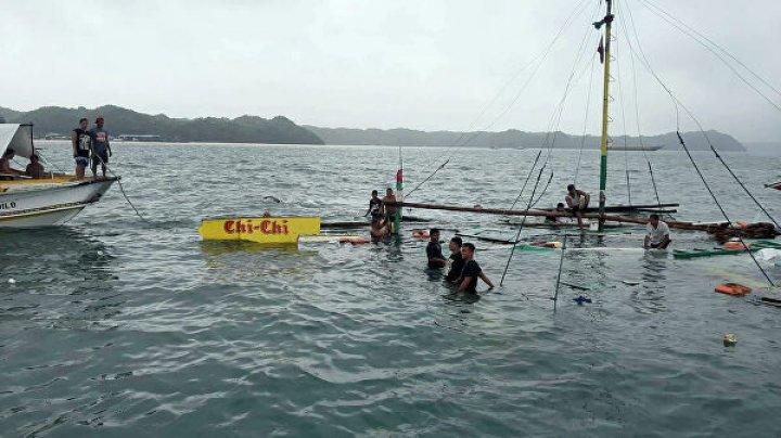 СМИ: число жертв затопления трех лодок на Филиппинах возросло до 25 человек