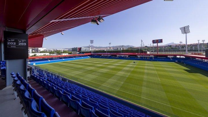 В Барселоне открылся стадион имени Йохана Кройфа