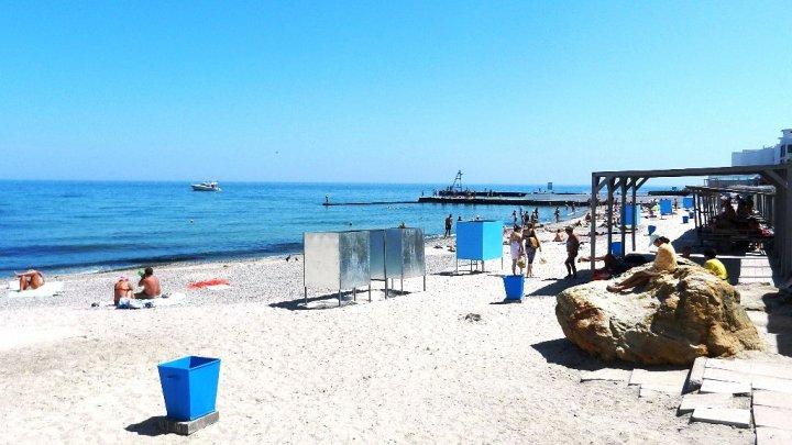 На пяти пляжах Одессы вода не соответствует норме