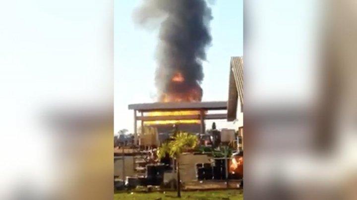 Взрыв произошел на заводе биотоплива в Бразилии