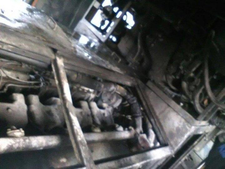 Пассажирский поезд Бельцы-Унгены загорелся на ходу