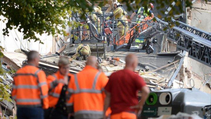 В Бельгии в результате мощного взрыва обрушились три дома
