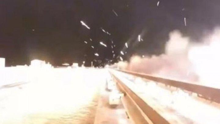 США испытали гиперзвуковые ракетные сани