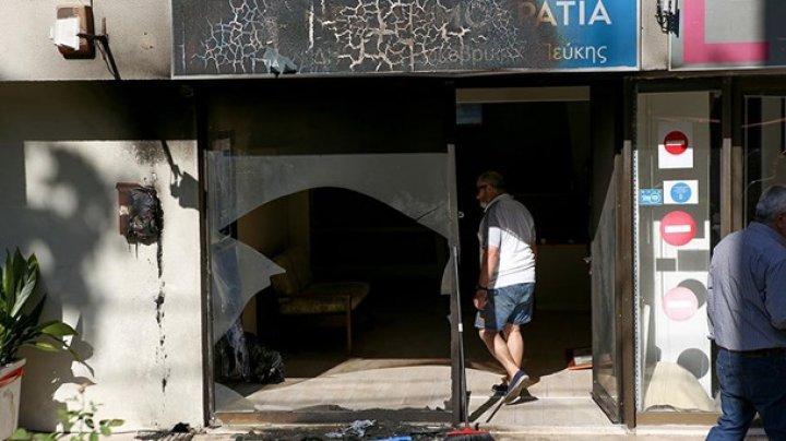 В Афинах взрыв повредил офис правящей партии Греции