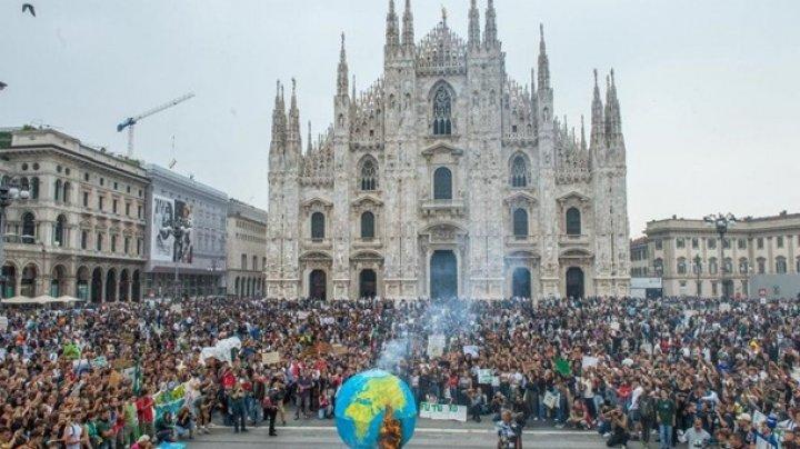 В Италии миллион человек протестовали против изменений климата