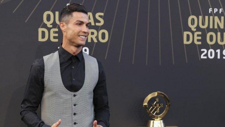 Криштиану Роналду - футболист года в Португалии