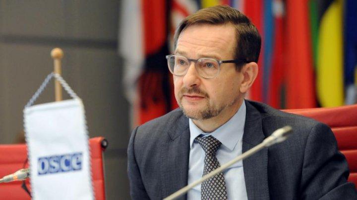 Генсекретарь ОБСЕ Томас Гремингер посетит Молдову с 17 по 19 сентября