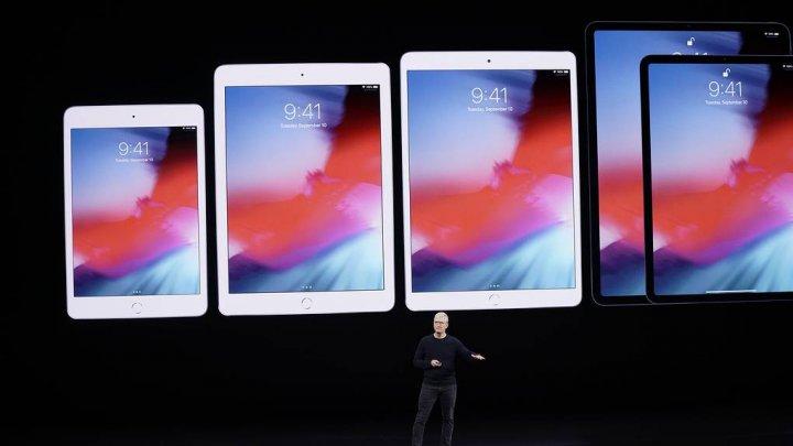 Apple представила новую модель iPad